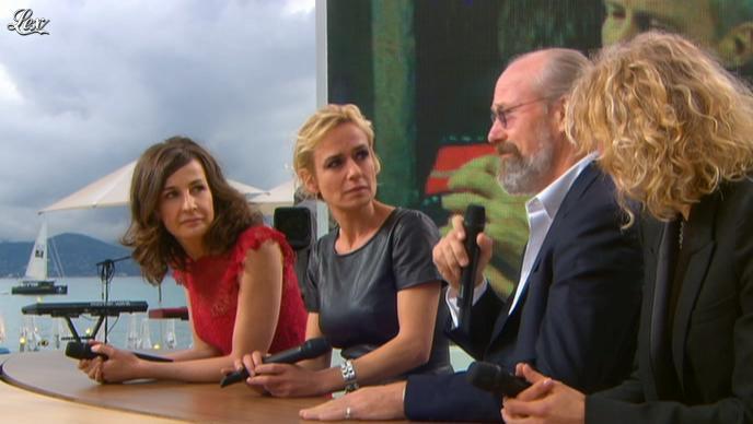 Sandrine Bonnaire dans le Grand Journal de Canal Plus. Diffusé à la télévision le 21/05/12.