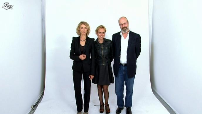 Sandrine Bonnaire dans le Grand Journal de Canal Plus. Diffusé à la télévision le 22/05/12.