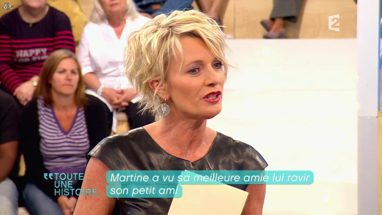 Sophie Davant dans Toute une Histoire. Diffusé à la télévision le 09/05/11.