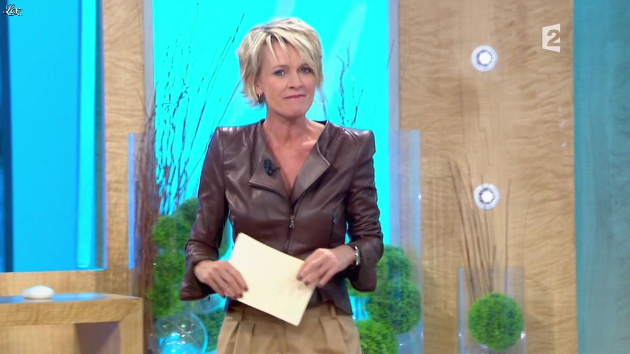 Sophie Davant dans Toute une Histoire. Diffusé à la télévision le 12/04/11.