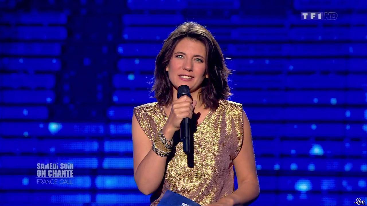 Estelle Denis dans Ce Soir On Chante France Gall. Diffusé à la télévision le 01/06/13.