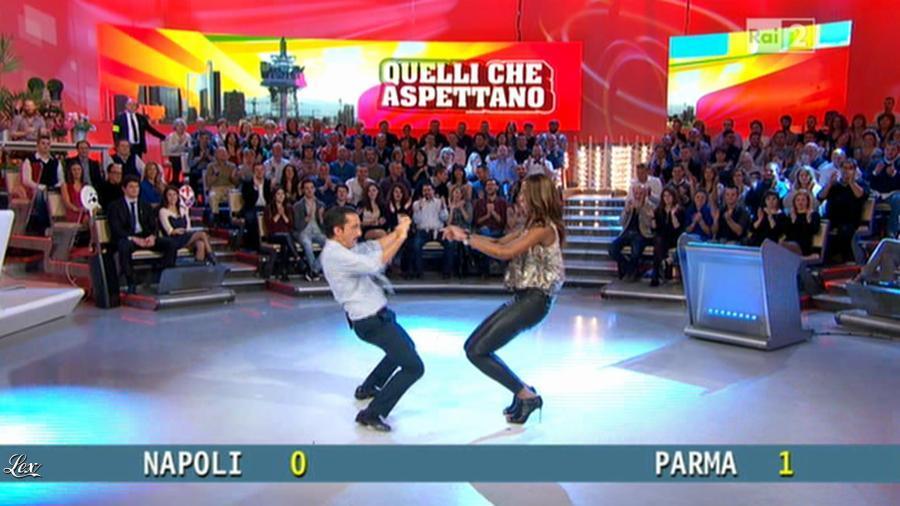 Ainett Stephens dans Quelli Che. Diffusé à la télévision le 24/11/13.