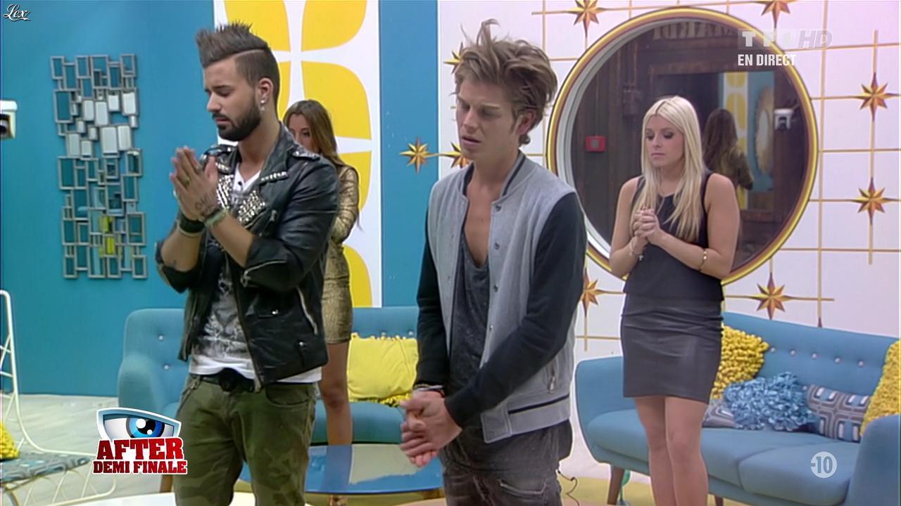 Alexia dans Secret Story. Diffusé à la télévision le 06/09/13.