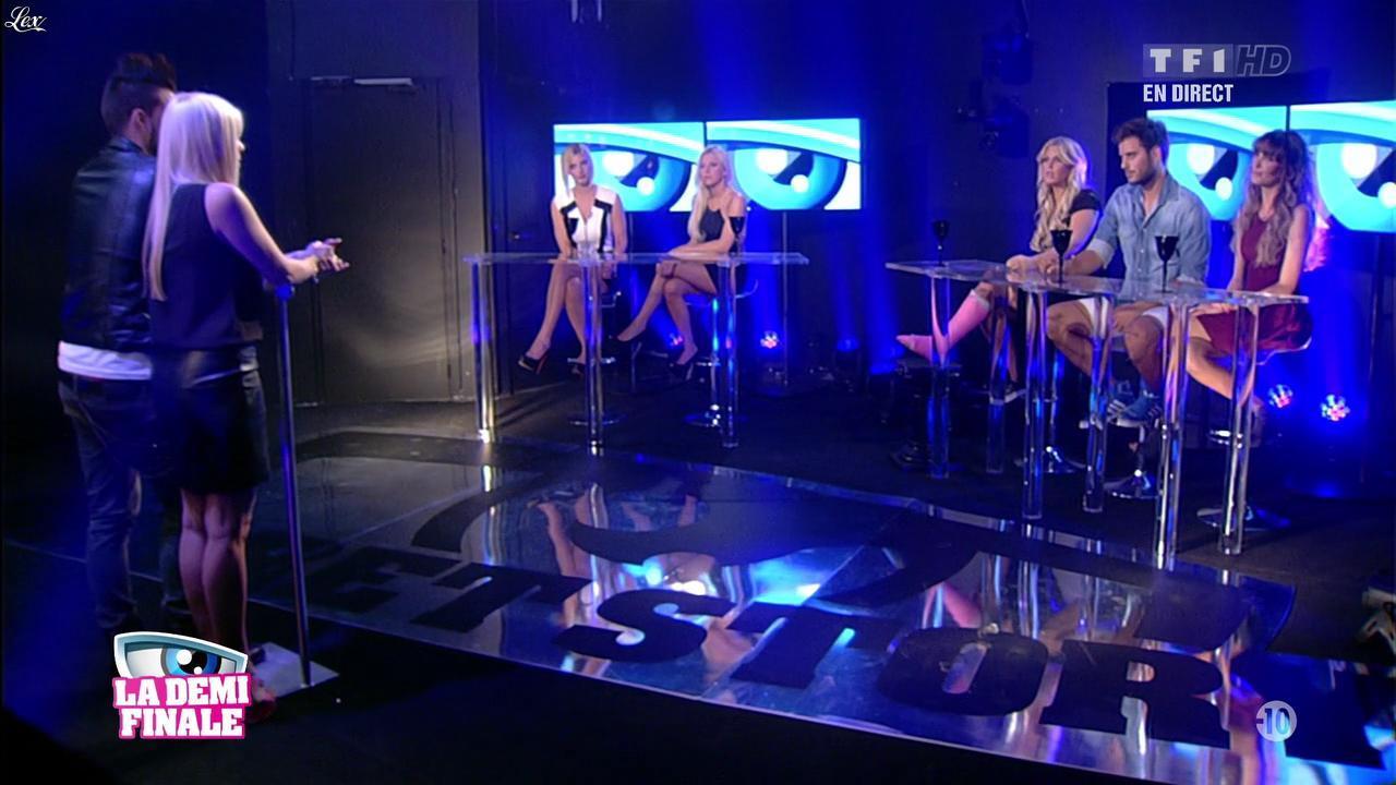 Alexia, Stéphanie et Nadege Lacroix dans Secret Story. Diffusé à la télévision le 06/09/13.