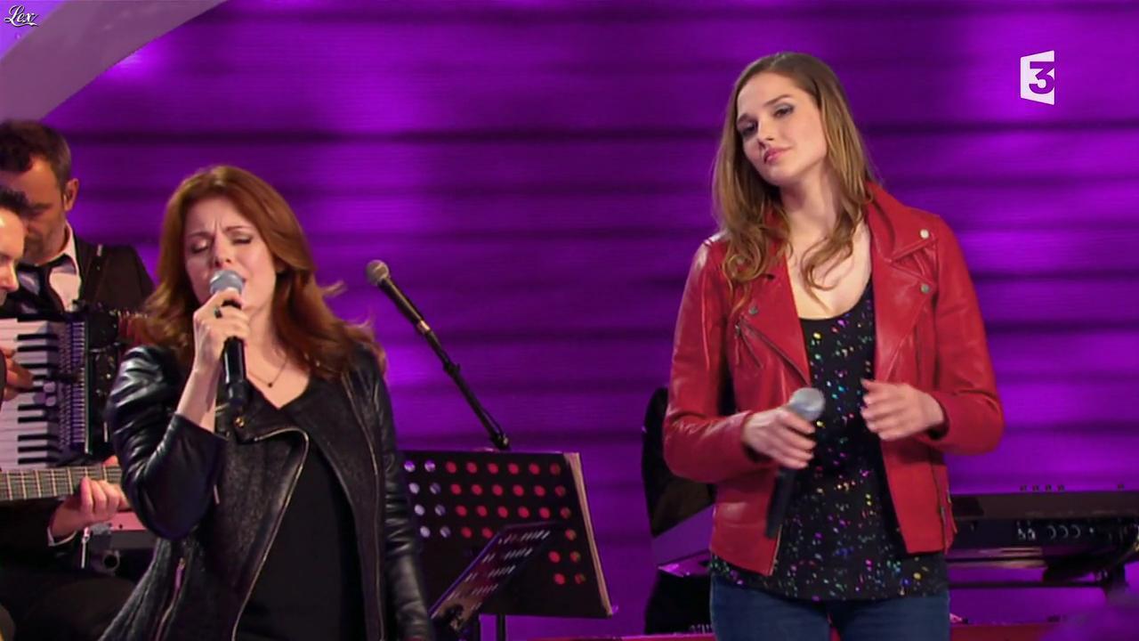 Camille Lou dans les Chansons d'Abord. Diffusé à la télévision le 11/06/14.
