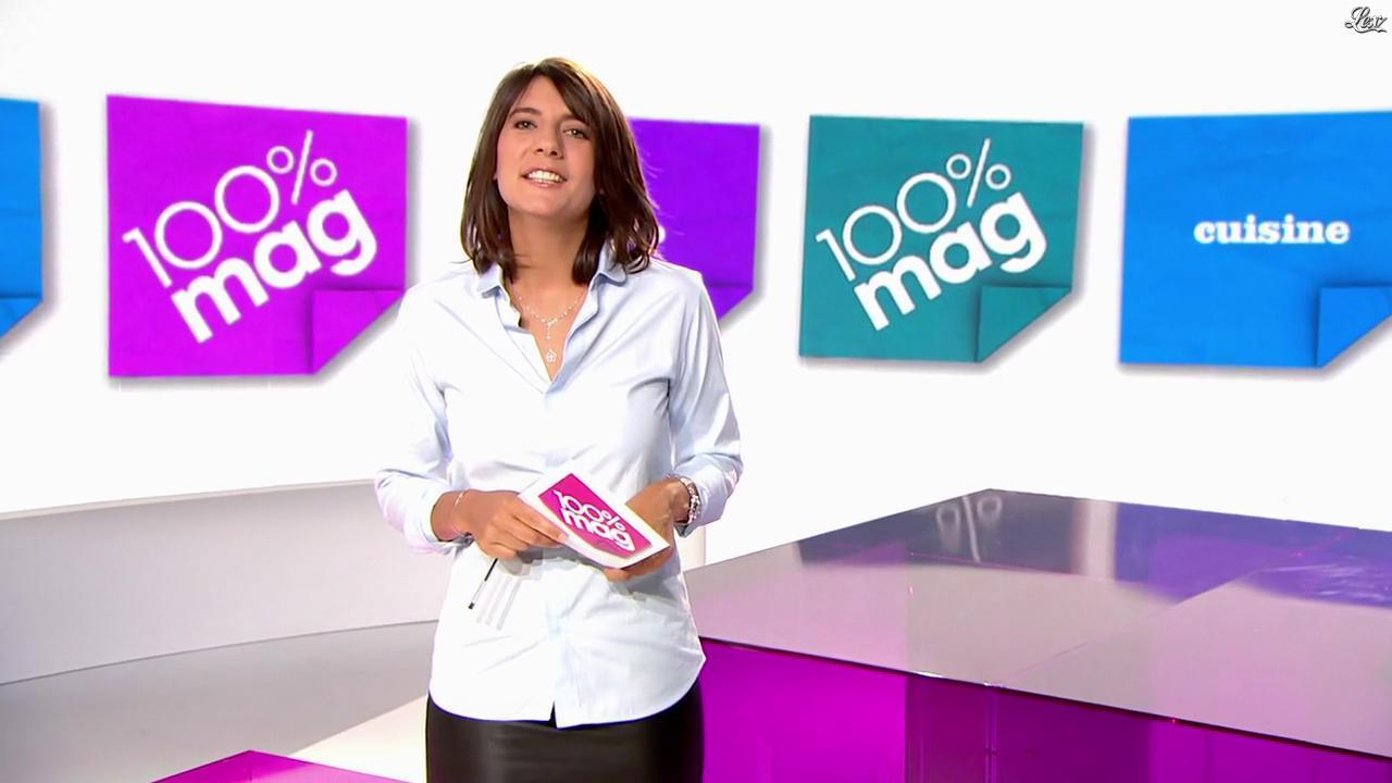 Estelle Denis dans 100 Mag. Diffusé à la télévision le 28/09/10.