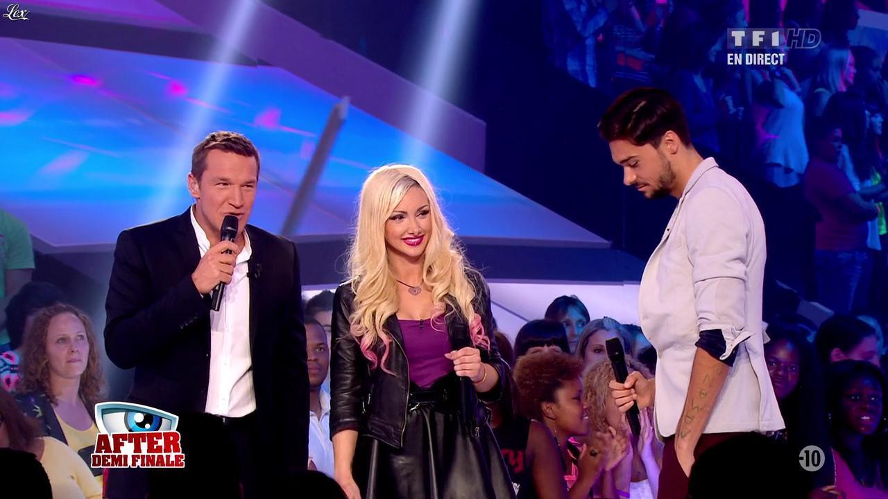 Florine dans Secret Story. Diffusé à la télévision le 06/09/13.