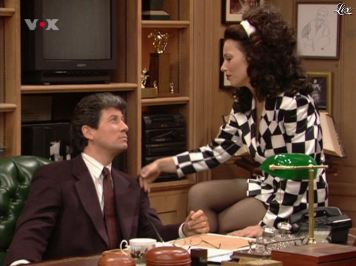 Fran Drescher dans Die Nanny. Diffusé à la télévision le 01/08/11.