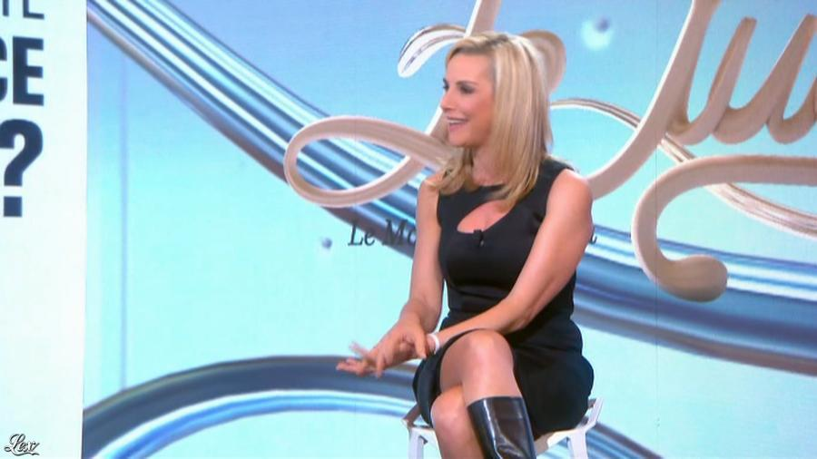 Laurence Ferrari dans le Tube. Diffusé à la télévision le 22/03/14.