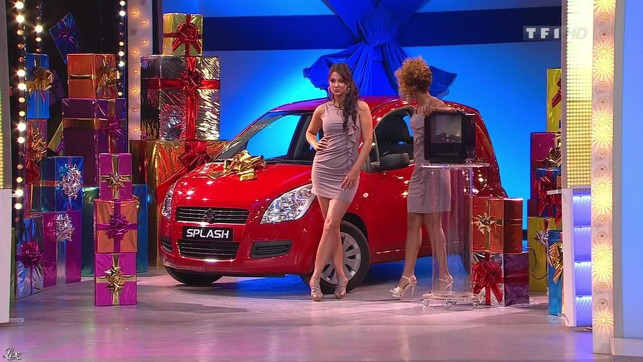 Les Gafettes, Fanny Veyrac et Doris Rouesne dans le Juste Prix. Diffusé à la télévision le 20/01/11.