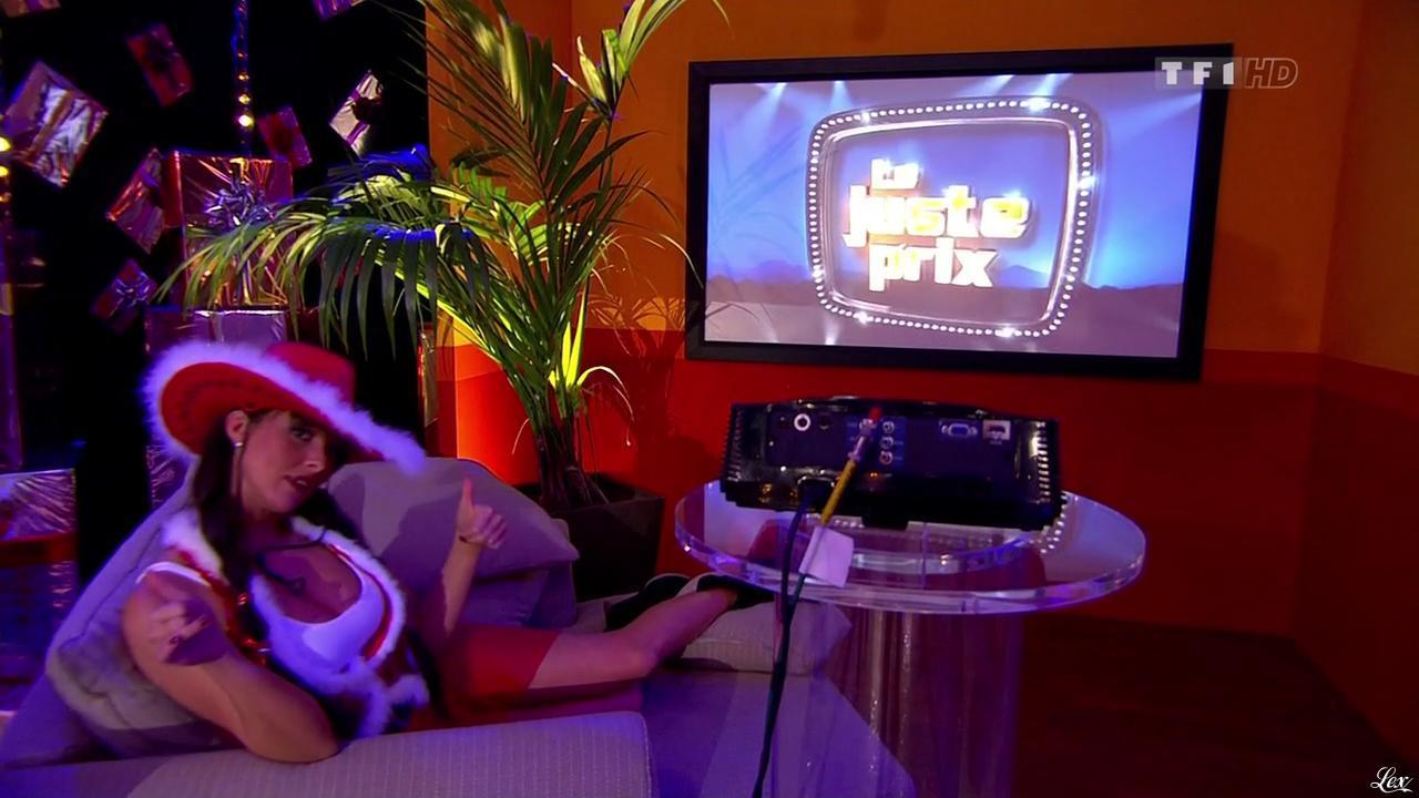 Fanny Veyrac dans le Juste Prix. Diffusé à la télévision le 10/12/10.