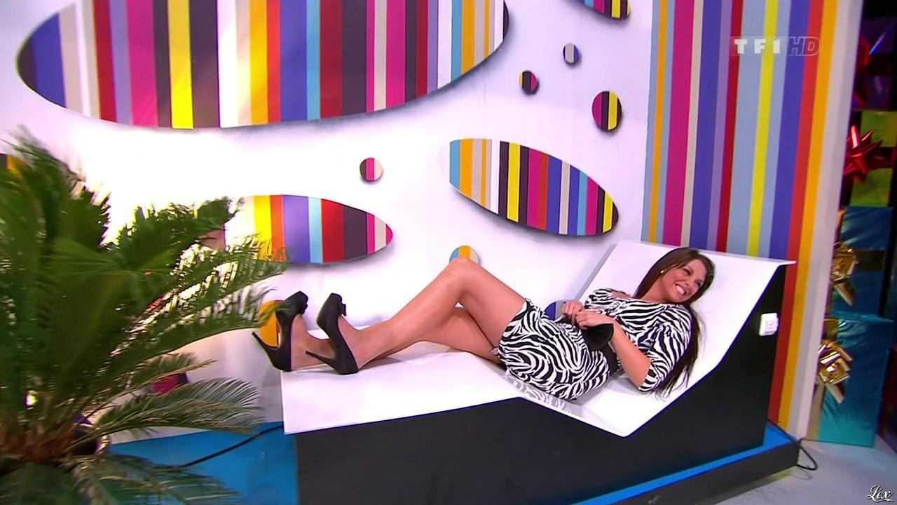 Fanny Veyrac dans le Juste Prix. Diffusé à la télévision le 12/01/11.