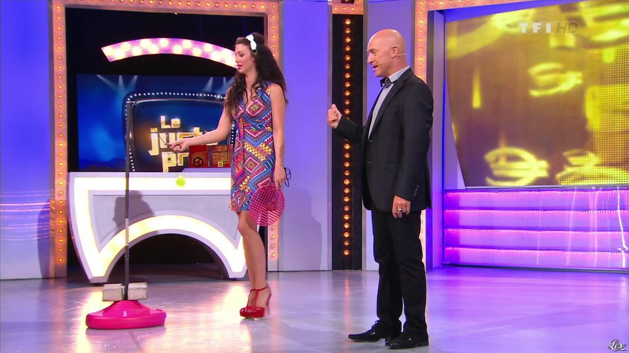 Fanny Veyrac dans le Juste Prix. Diffusé à la télévision le 17/09/13.