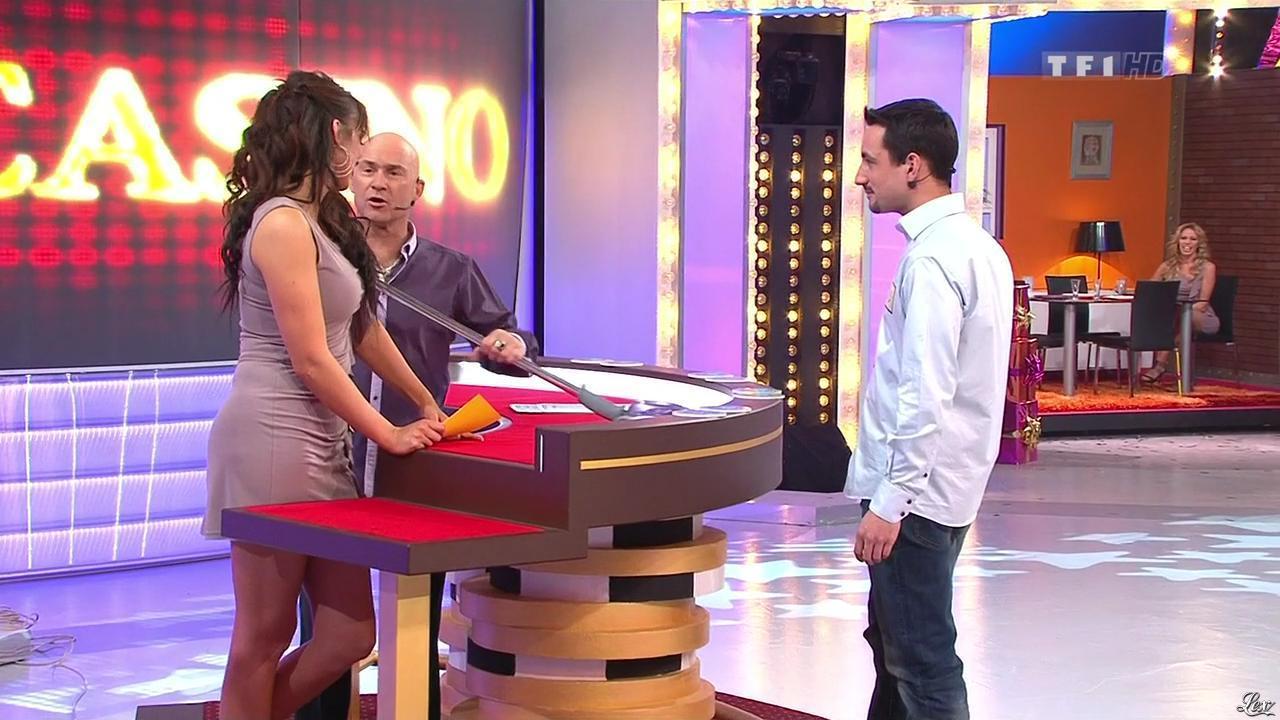Fanny Veyrac dans le Juste Prix. Diffusé à la télévision le 20/01/11.