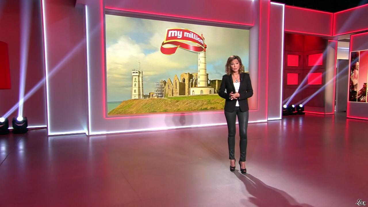 Sandrine Quétier dans My Million. Diffusé à la télévision le 20/06/14.