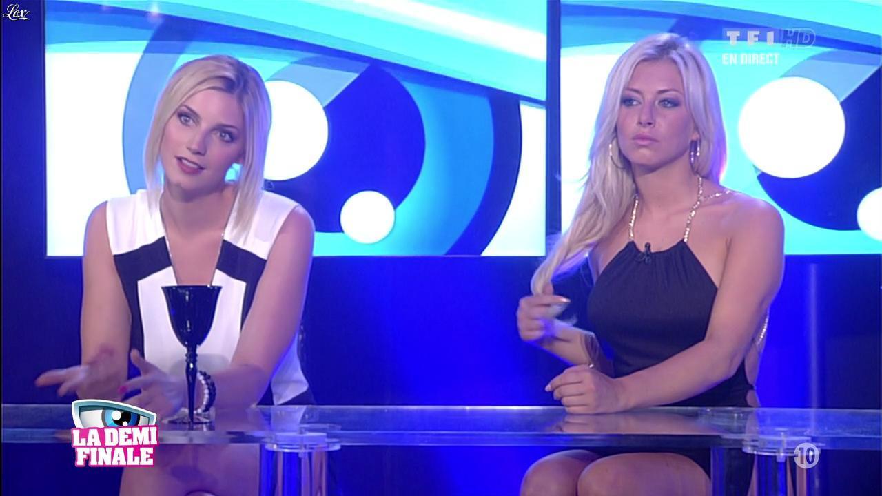 Stéphanie et Nadege Lacroix dans Secret Story. Diffusé à la télévision le 06/09/13.