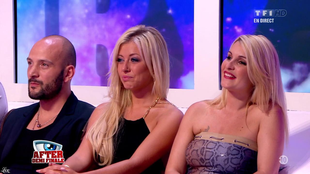 Stéphanie et Sonja dans Secret Story. Diffusé à la télévision le 06/09/13.
