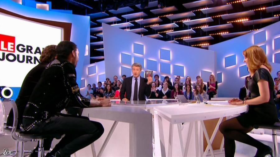Valérie Amarou dans le Grand Journal de Canal Plus. Diffusé à la télévision le 19/02/14.