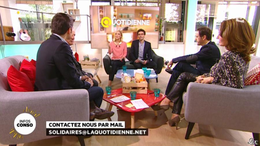 Valérie Durier dans la Quotidienne. Diffusé à la télévision le 28/10/13.
