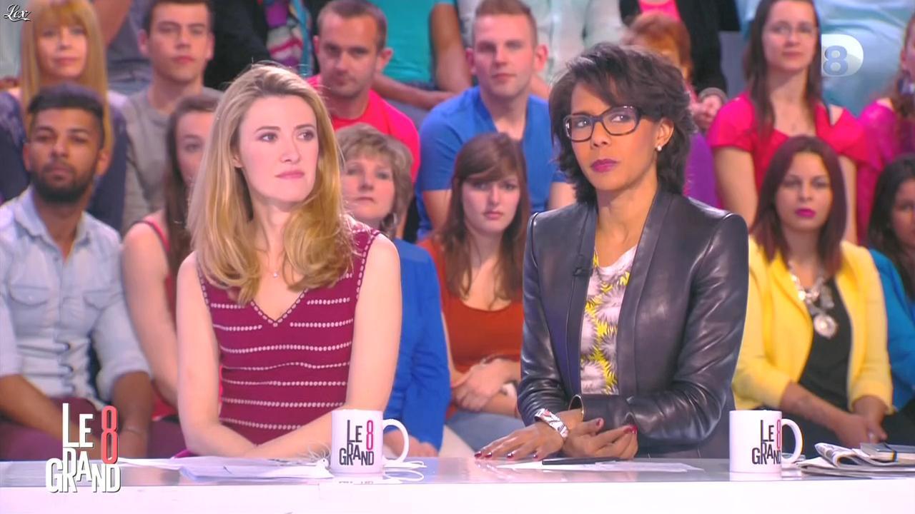 Audrey Pulvar dans le Grand 8. Diffusé à la télévision le 08/05/15.