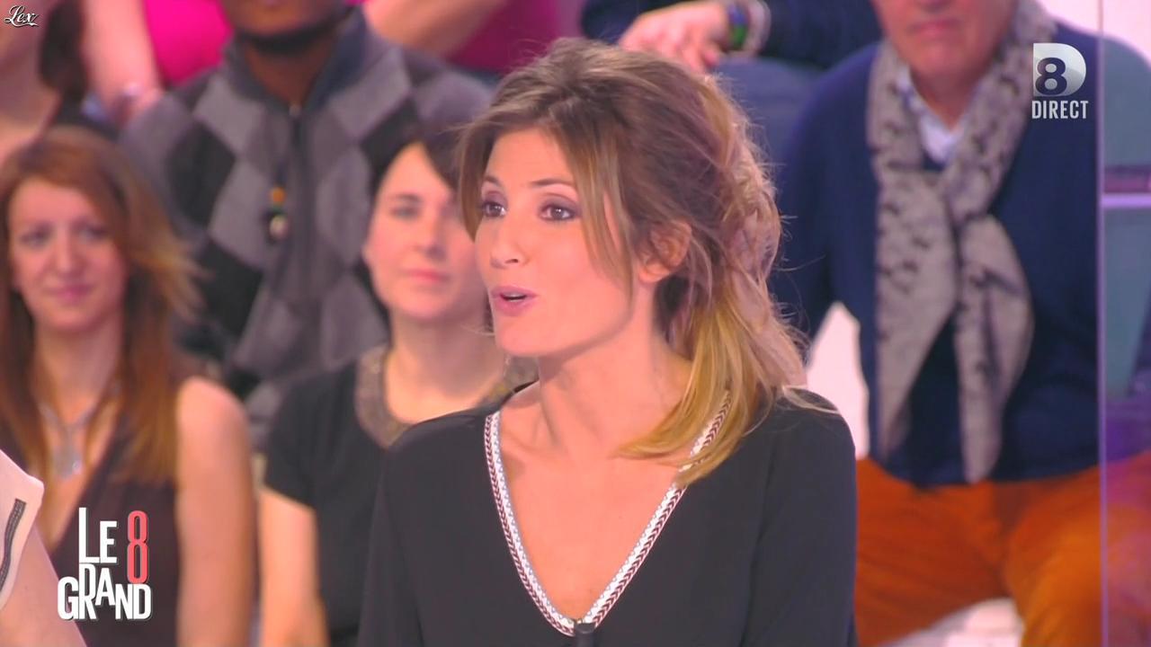 Caroline Ithurbide dans le Grand 8. Diffusé à la télévision le 19/03/15.