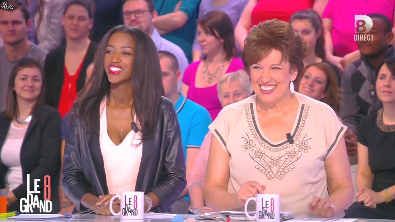 Hapsatou Sy dans le Grand 8. Diffusé à la télévision le 19/03/15.