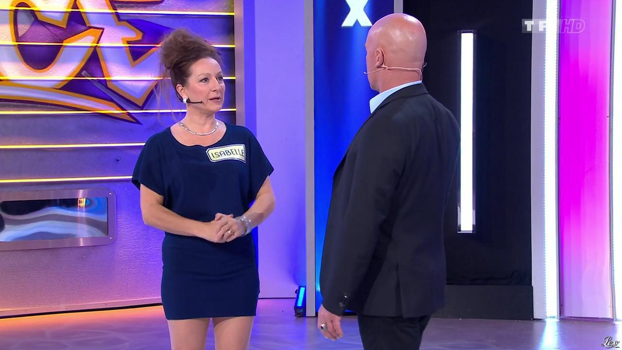 Isabelle dans le Juste Prix. Diffusé à la télévision le 06/03/15.