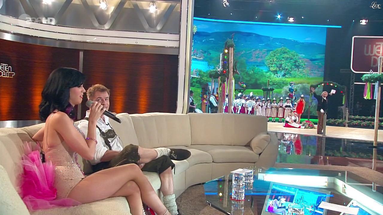 Katy Perry dans Wetten Dass. Diffusé à la télévision le 02/10/10.