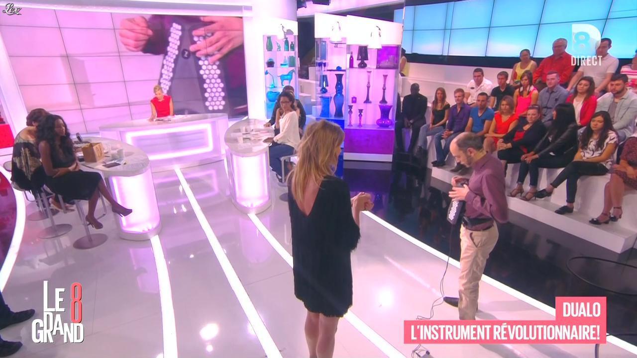 Laurence Ferrari et Caroline Ithurbide dans le Grand 8. Diffusé à la télévision le 10/06/15.