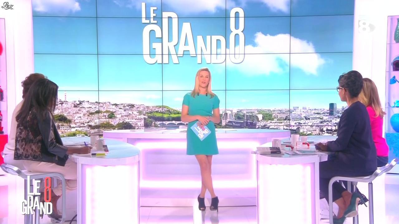 Laurence Ferrari, Hapsatou Sy et Audrey Pulvar dans le Grand 8. Diffusé à la télévision le 19/03/15.