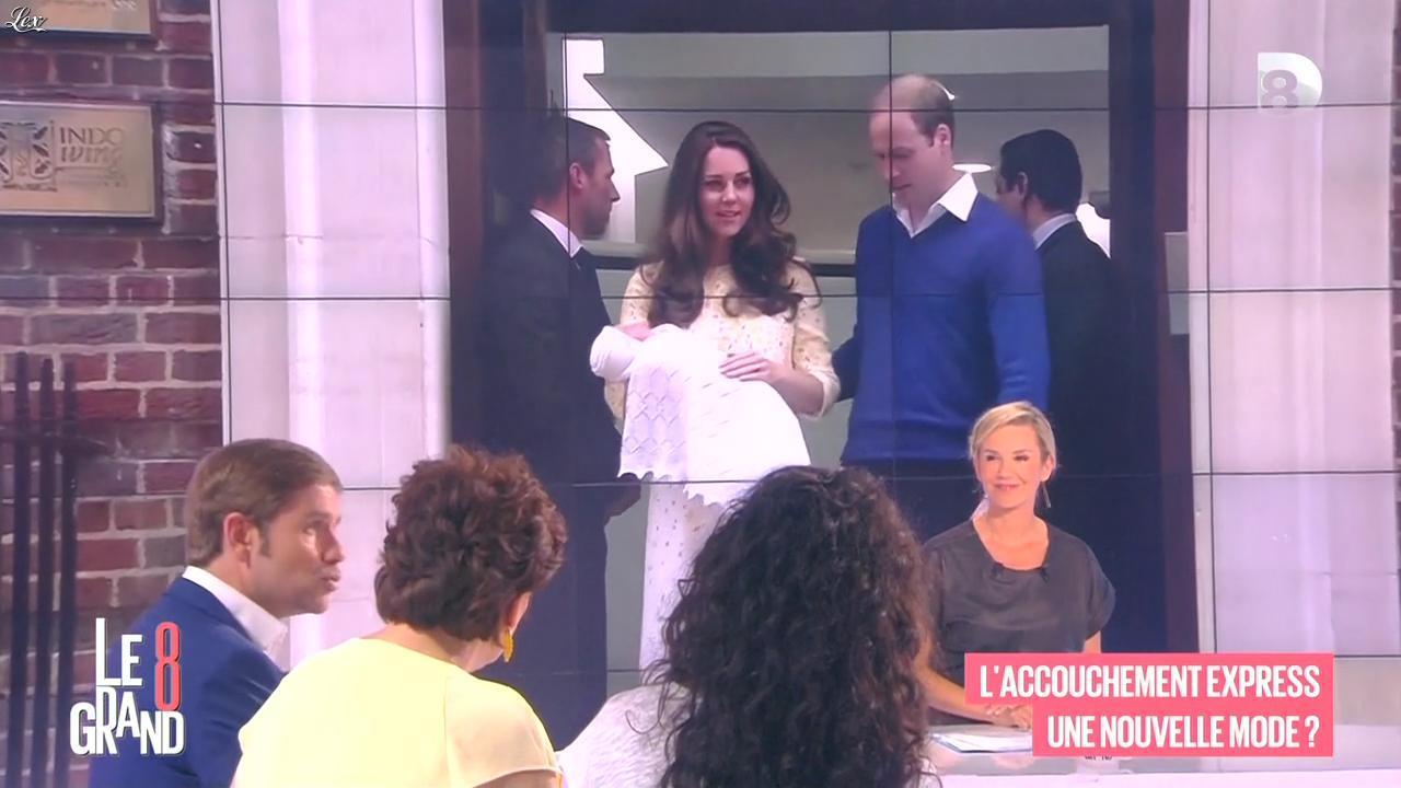 Laurence Ferrari dans le Grand 8. Diffusé à la télévision le 08/05/15.