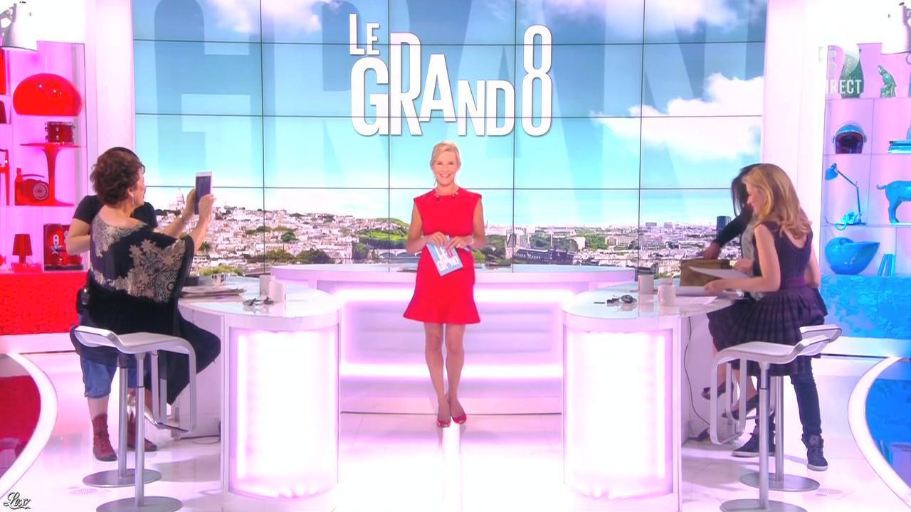 Laurence Ferrari dans le Grand 8. Diffusé à la télévision le 10/06/15.