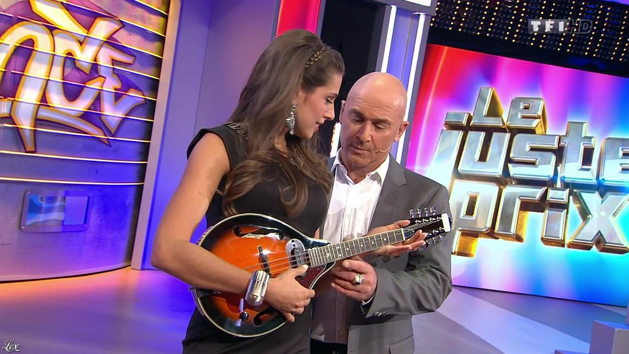 Alice Llenas dans le Juste Prix. Diffusé à la télévision le 04/03/15.
