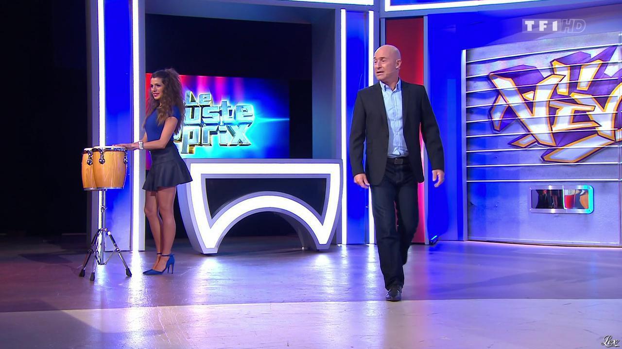 Alice Llenas dans le Juste Prix. Diffusé à la télévision le 13/03/15.