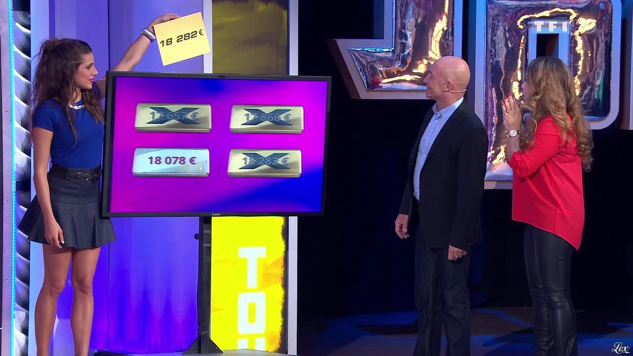 Les Gafettes, Alice Llenas et Malika dans le Juste Prix. Diffusé à la télévision le 13/03/15.