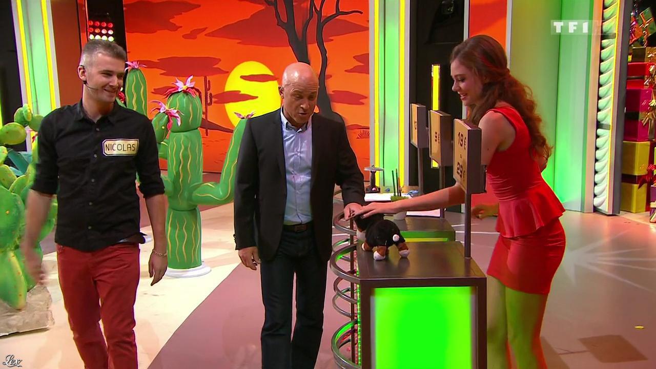 Cyrielle Joelle dans le Juste Prix. Diffusé à la télévision le 13/03/15.