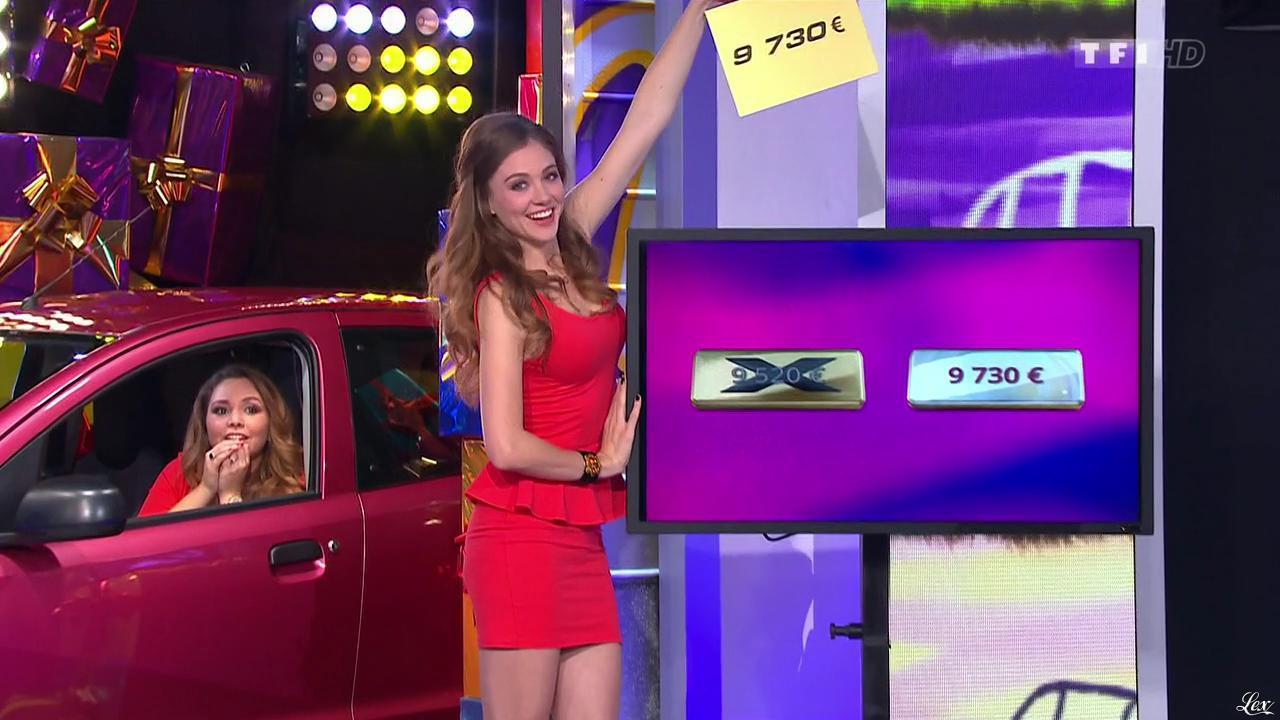Les Gafettes, Cyrielle Joelle et Malika dans le Juste Prix. Diffusé à la télévision le 13/03/15.