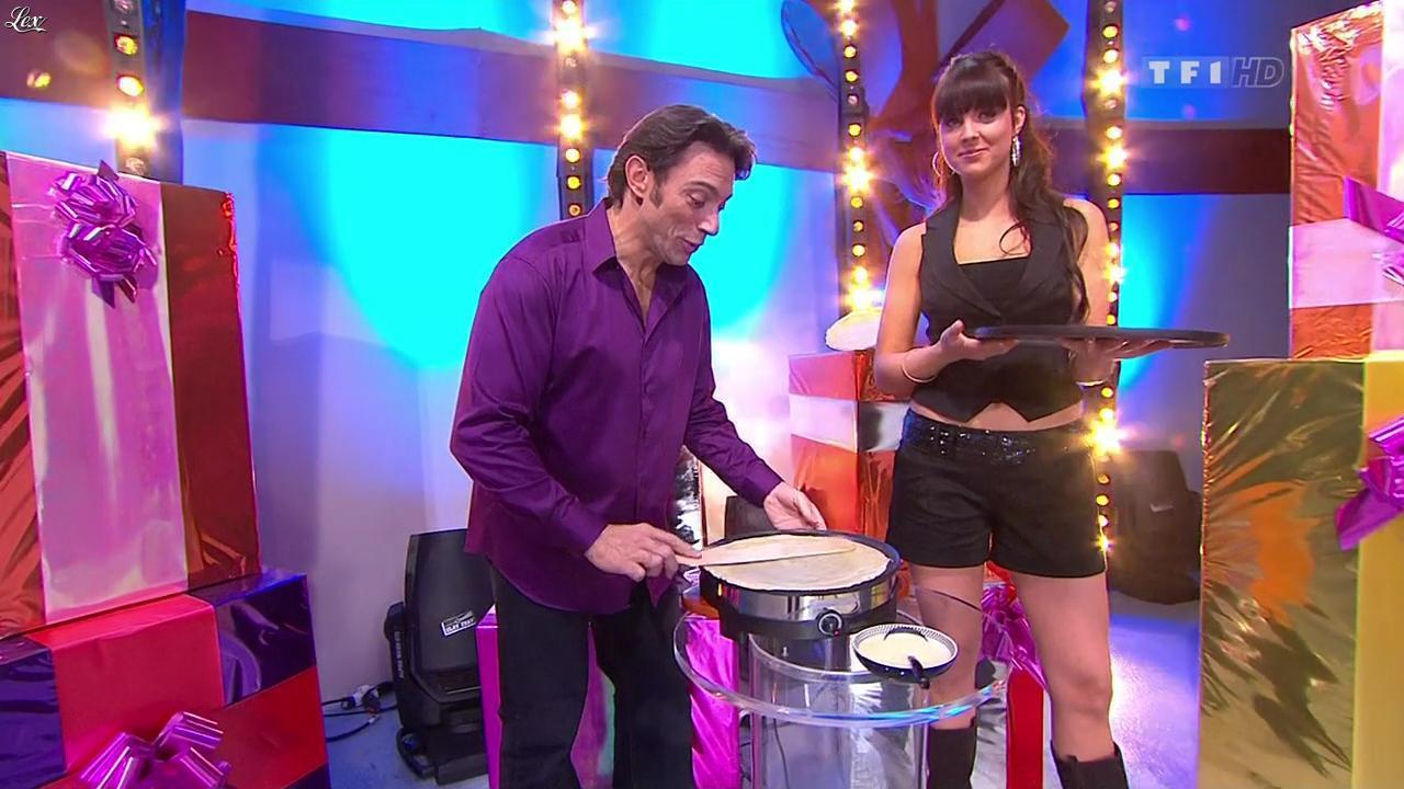 Fanny Veyrac dans le Juste Prix. Diffusé à la télévision le 02/02/10.