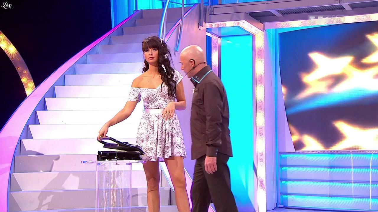 Fanny Veyrac dans le Juste Prix. Diffusé à la télévision le 25/03/10.