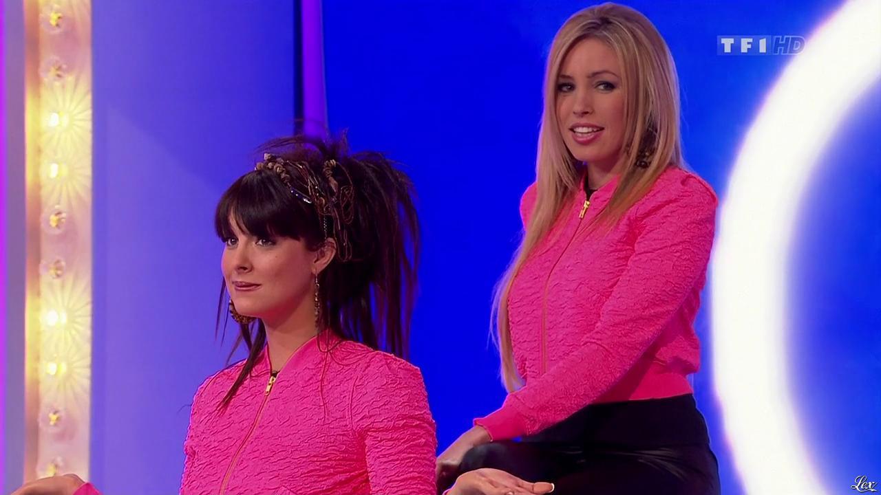 Les Gafettes, Fanny Veyrac et Nadia Aydanne dans le Juste Prix. Diffusé à la télévision le 12/03/10.