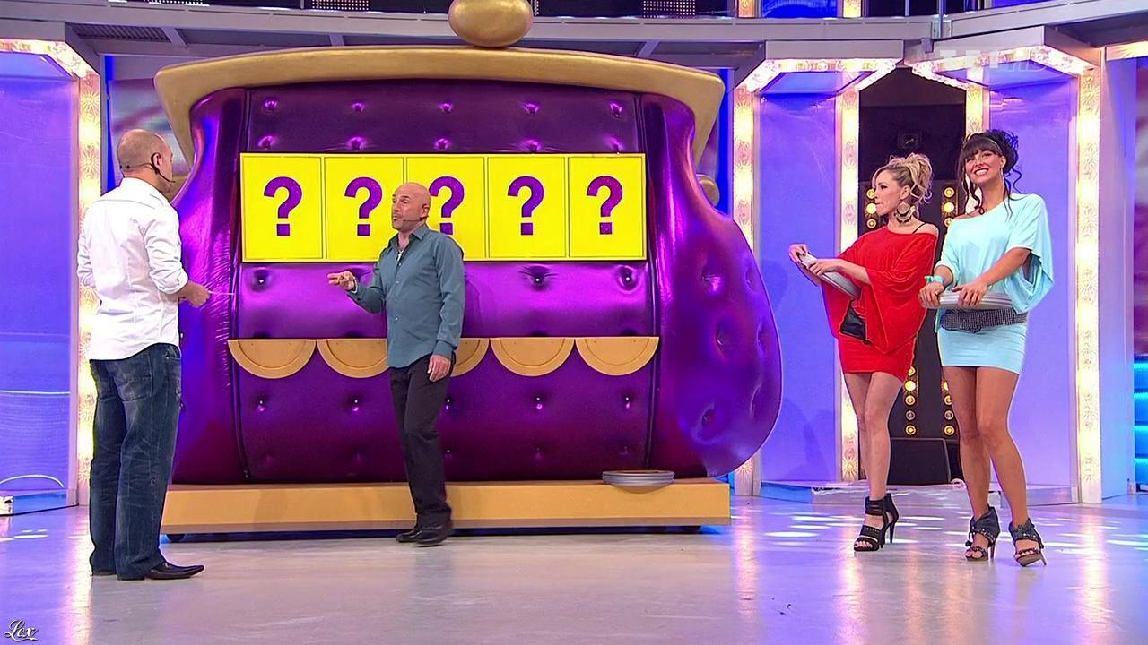Les Gafettes, Fanny Veyrac et Nadia Aydanne dans le Juste Prix. Diffusé à la télévision le 23/04/10.