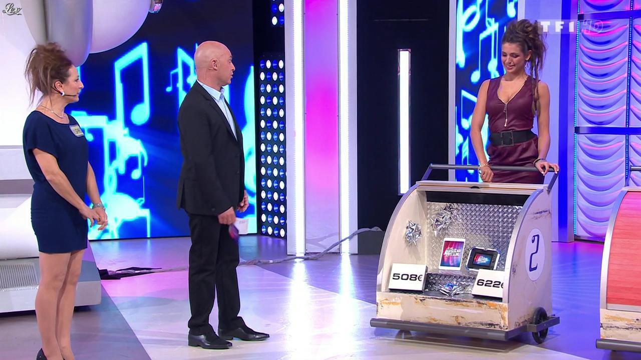 Les Gafettes, Isabelle et Alice Llenas dans le Juste Prix. Diffusé à la télévision le 06/03/15.