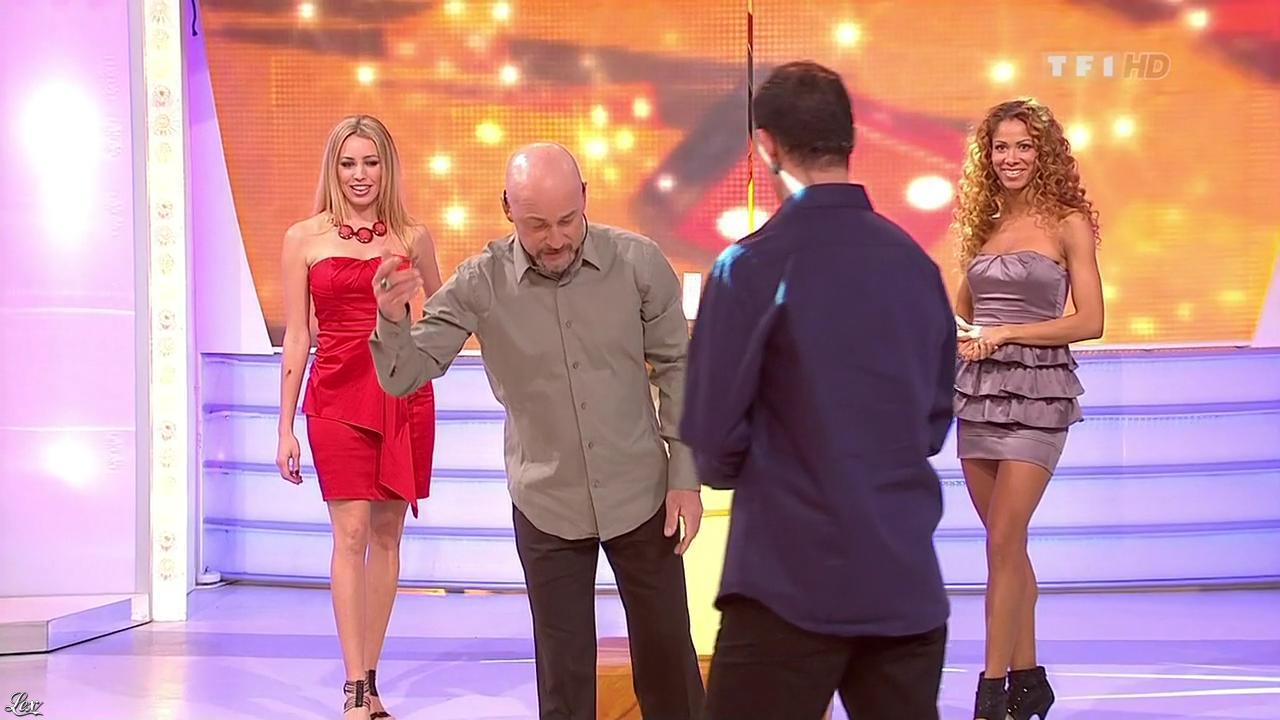 Les Gafettes, Nadia Aydanne et Doris Rouesne dans le Juste Prix. Diffusé à la télévision le 13/01/10.