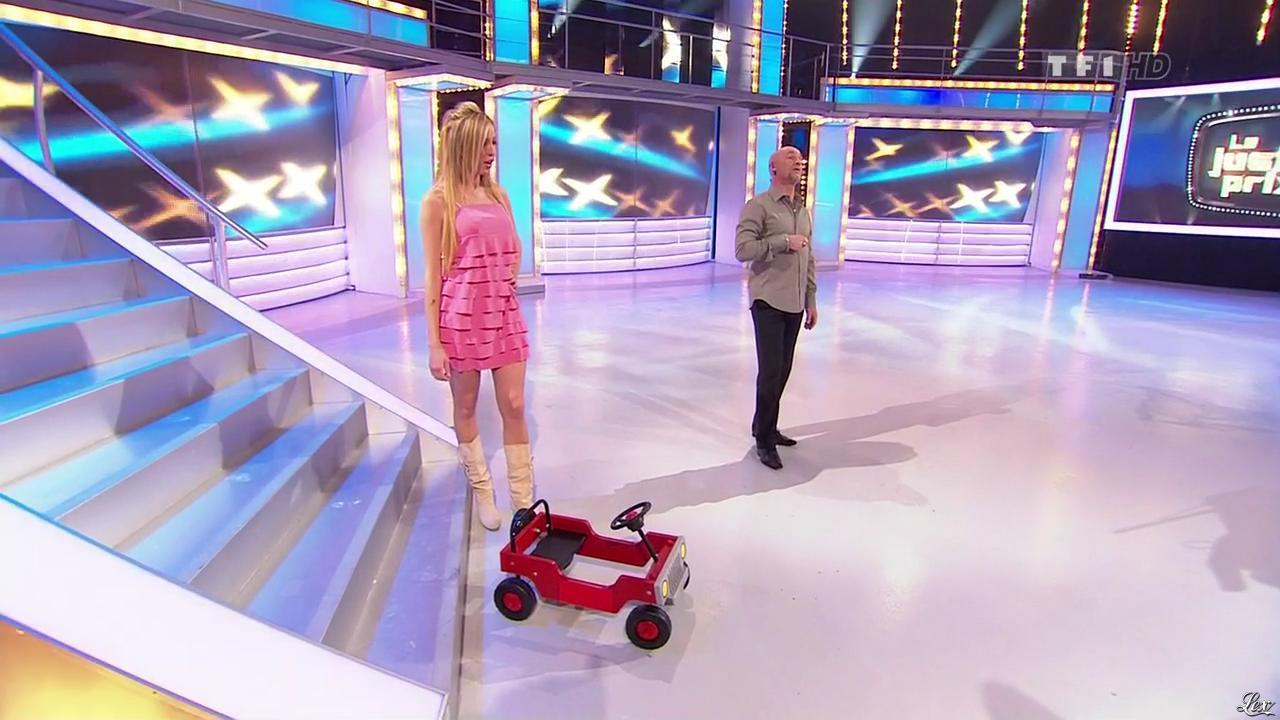 Nadia Aydanne dans le Juste Prix. Diffusé à la télévision le 12/03/10.