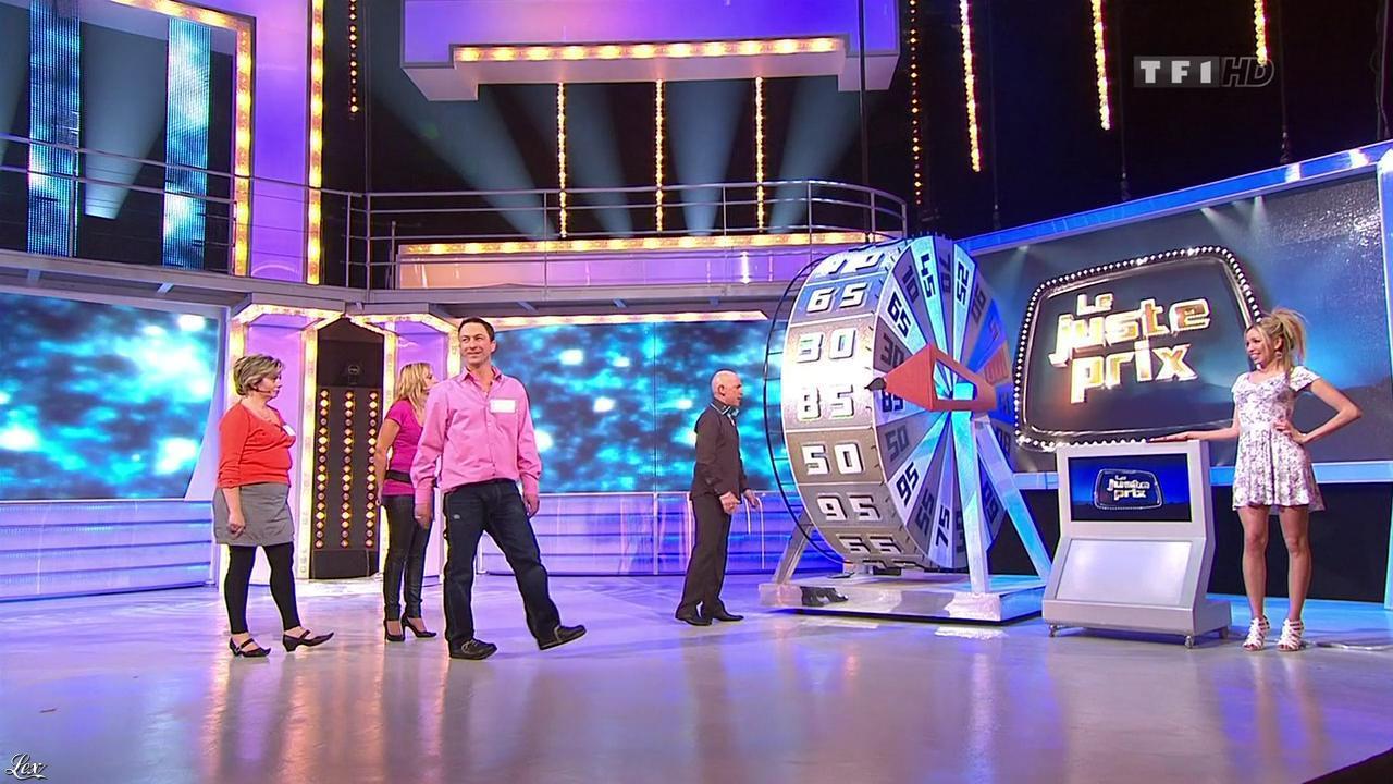 Nadia Aydanne dans le Juste Prix. Diffusé à la télévision le 25/03/10.