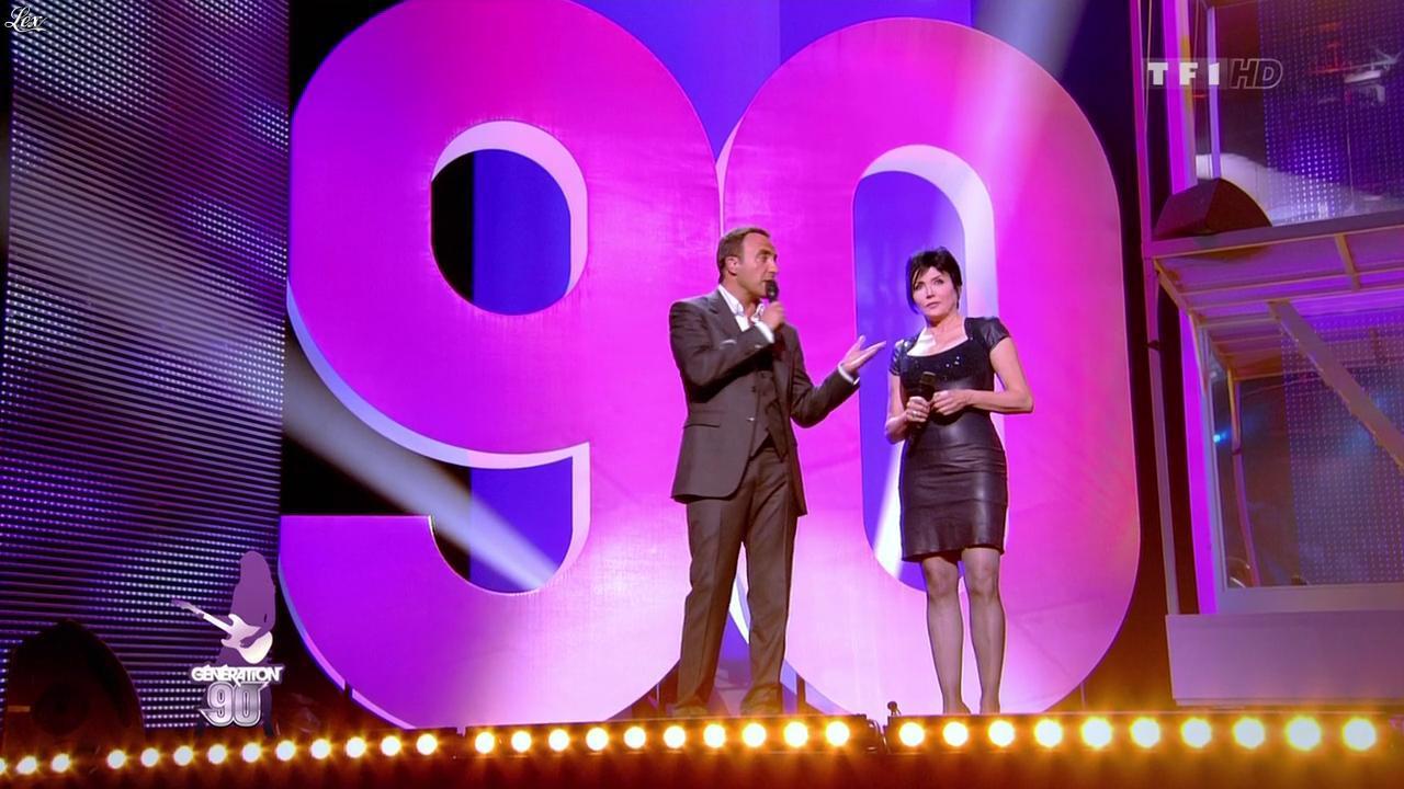 Liane Foly dans Génération 90. Diffusé à la télévision le 31/07/10.