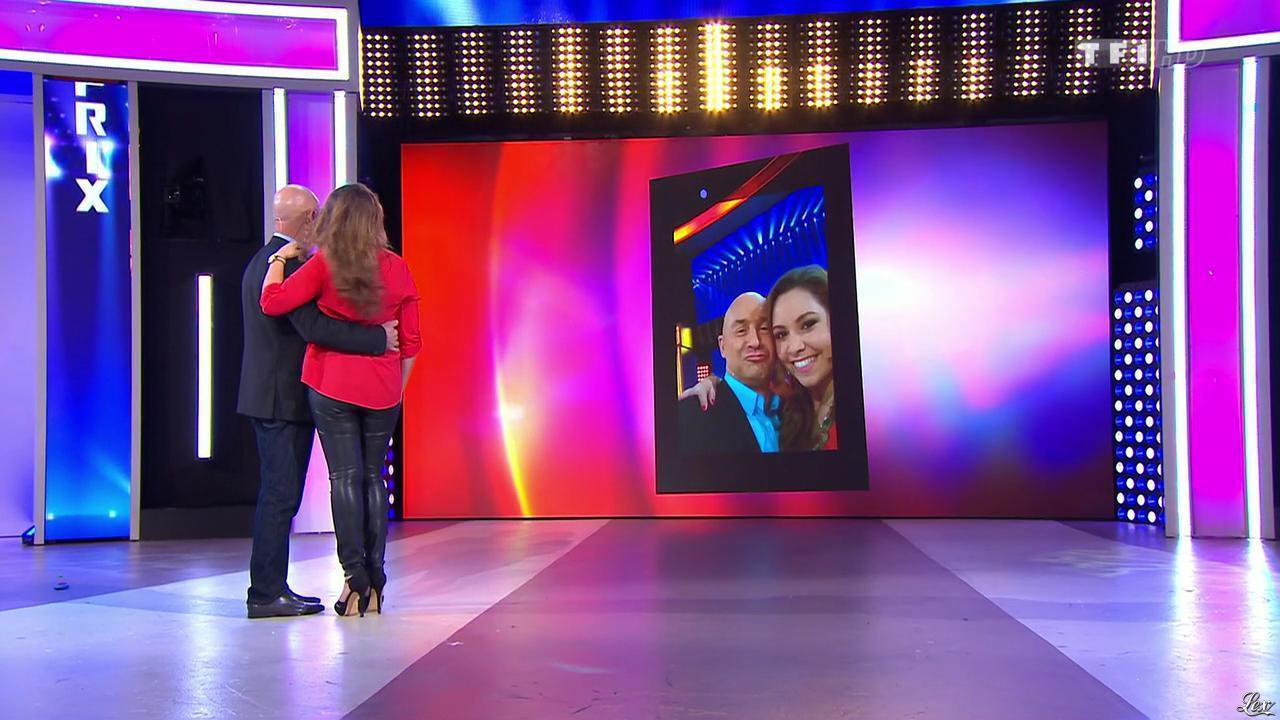 Malika dans le Juste Prix. Diffusé à la télévision le 13/03/15.