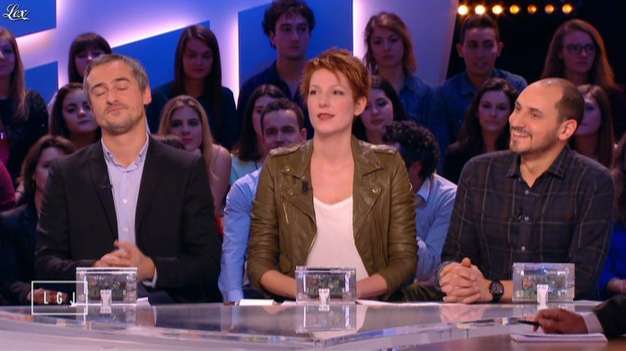 Natacha Polony dans le Grand Journal de Canal Plus. Diffusé à la télévision le 10/12/14.