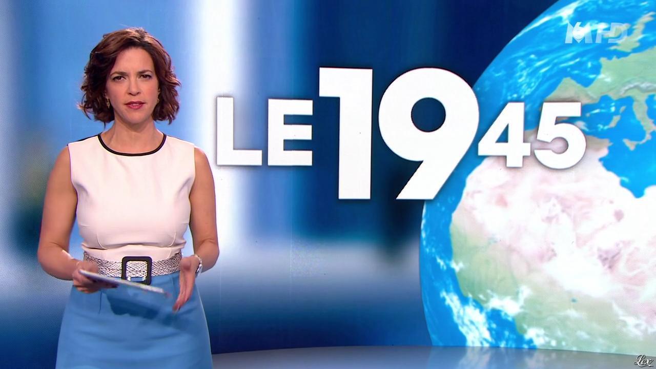 Nathalie Renoux dans le 19-45. Diffusé à la télévision le 16/05/15.