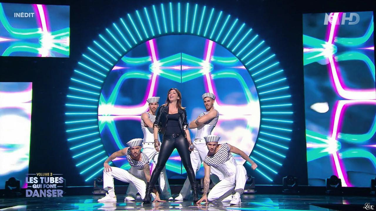 sabrina salerno dans m6 f te les 30 ans du top 50 29 04 15 06. Black Bedroom Furniture Sets. Home Design Ideas